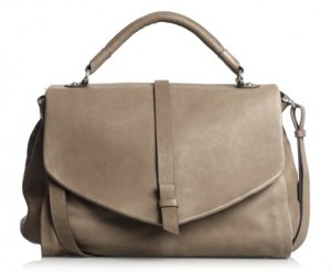Jigsaw Middle Tab Satchel