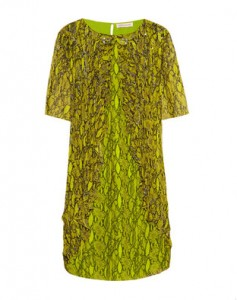 Matthew Williamson Silk-Chiffon Dress