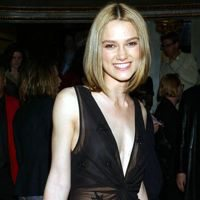 Image of Kiera Knightly wearing unflattering deep v-neckline