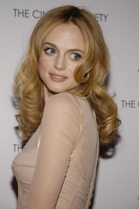 Heather Graham wearing flattering colour
