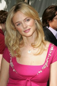 Heather Graham wearing too bright colour