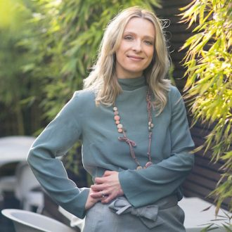 Image of Laura Robinson, Caboodle Style Founder, showing her more relaxed Personal Style in 2017