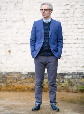 Full-Length After Image of Personal Style Makeover Male Client Gavin